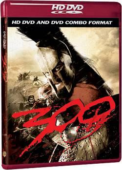 La versione combo HD DVD e DVD di 300
