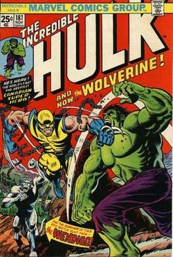 The Incredible Hulk 181, copertina di Herb Trimpe