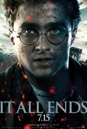 Daniel Radcliffe nei poster dei Doni della Morte - Parte II