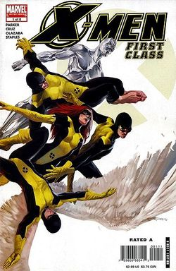 Il primo albo della mini serie X-Men First Class.