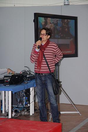 Emanuele Vietina (Foto di Andrea Bernardini: http://www.flickr.com/photos/luccacomicsandgames/4061722044/)