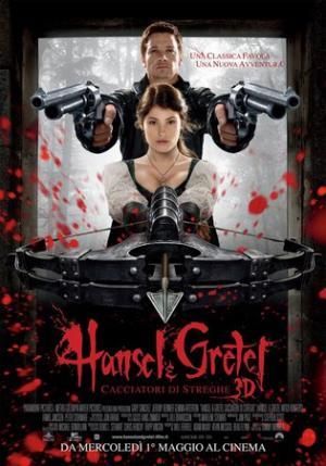 Hansel & Gretel - Cacciatori di streghe, il poster ufficiale italiano