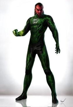 Sinestro versione Lanterna Verde