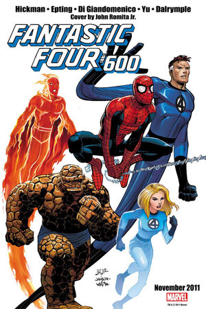 FF #600. Cover di John Romita Jr.