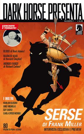 "La copertina di ""Dark Horse presenta""."