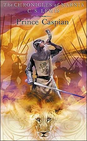 La cover del libro, Le Cronache di Narnia: il Principe Caspian