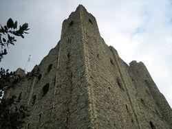 Il castello di Rochester (Kent).