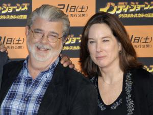 George Luca & Kathleen Kennedy