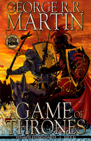 Il secondo fascicolo dell'edizione americana di A Game of Thrones.
