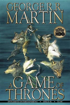 La copertina del primo numero della graphic novel tratta da A Game of Thrones