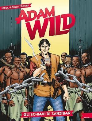 Adam Wild n° 1 - Copertina di Darko Perovic