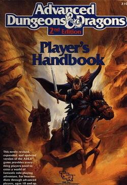 Advanced D_D 2a edizione Manuale del Giocatore