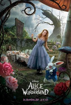Il secondo poster di Alice in Wonderland