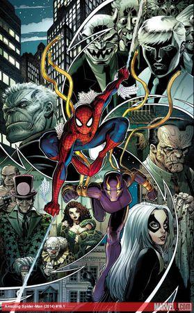 Amazing Spider-Man 16.1 - Cover di Arthur Adams