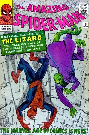 Amazing Spider-Man n.6, la prima apparizione di Lizard