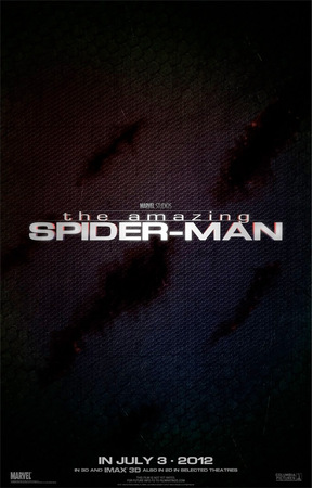 Il teaser poster di The Amazing Spider-Man.