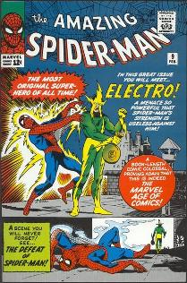 The Amazing Spider-Man 9, disegno di Steve Ditko