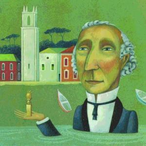 Un'opera di Mauro Evangelista, premiato come miglior illustratore