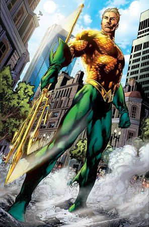 Aquaman, disegno di Ivan Reiss.
