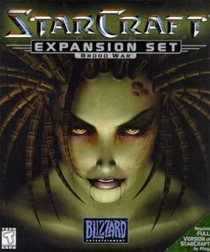 Cover dell'espansione di Starcraft, Brood War