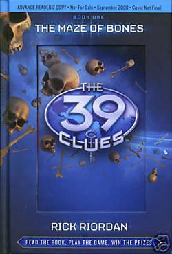 Il primo volume della serie 39 Clues