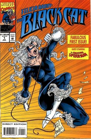 Felicia Hardy - The Black Cat #1, cover di Andrew Wildman e Stephen Baskerville