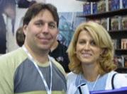 Salvatore con la moglie Diane