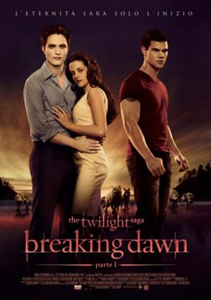 Un poster italiano di Breaking Dawn