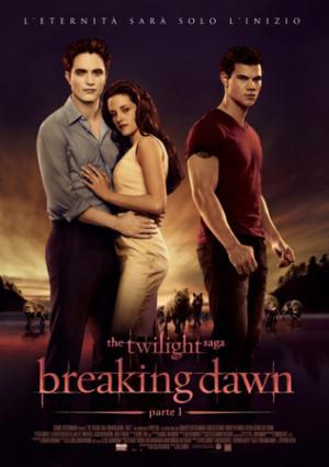 Un poster italiano di Breaking Dawn