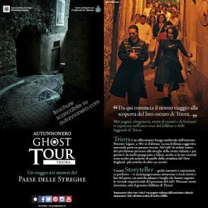 Locandina dell'Autunnonero Ghost Tour Triora 2014