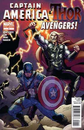 Captain America & Thor: Avengers #1