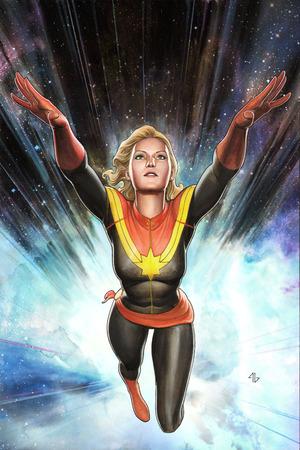 Capitan Marvel in un disegno di Adi Granov