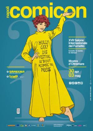 Manifesto del Comicon 2015 di Milo Manara