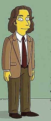 Michael Chabon in una delle puntate dei Simpson