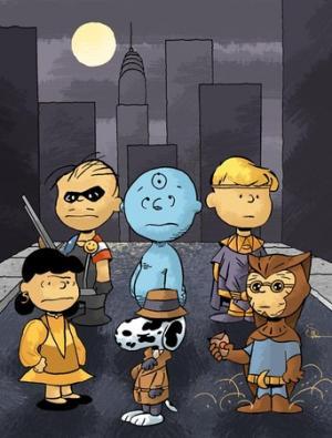 Charles Schulz's Watchmen by DocShaner