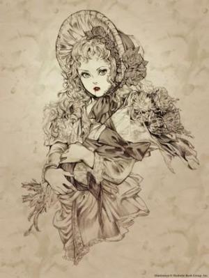 Claudia disegnata da Ashley Marie Witter.