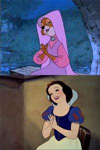 Lady Marian o Biancaneve? Questo è il dilemma.