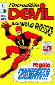 Devil Corno n.1 - Disegno di Bill Everett