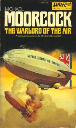 La copertina di Warlord of the air di Michael Moorcock