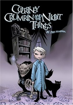 La copertina di Courtney Crumrin and the Night Things