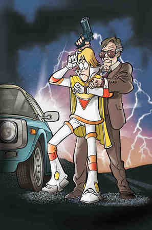 """La cover in anteprima del n. 3 richiama il poster di """"Ritorno al Futuro"""""""