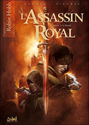 La copertina del primo volume a fumetti