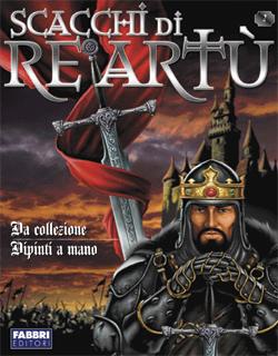 Gli scacchi di Re Artù, prima cover per la Delos Books di Maurizio Campidelli