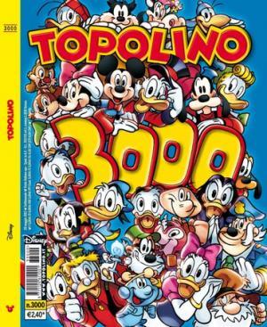 Topolino 3000: la cover