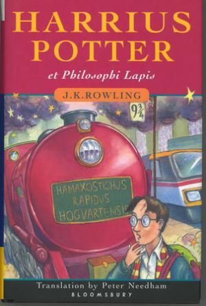 Il libro in latino pubblicaoa dalla Bloomsbury