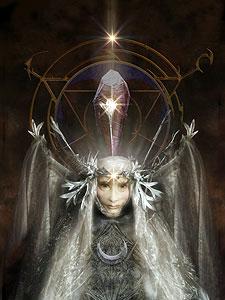 Queen Kira, la protagonista del sequel di Dark Crystal