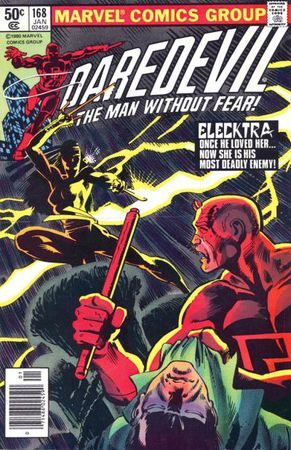 Daredevil 168 - Cover di Frank Miller