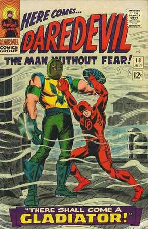 Daredevil 18, cover di John Romita Sr.