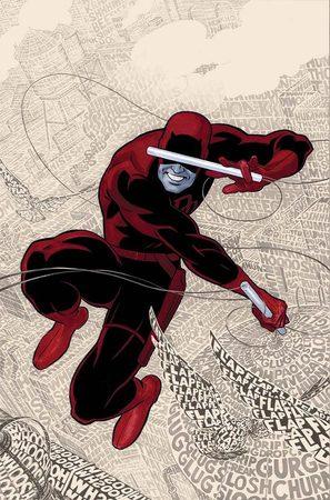 Daredevil in un disegno di Paolo Rivera