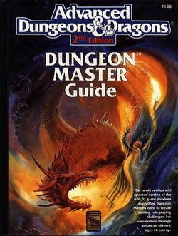 AD_D 2a edizione Guida del Dungeon Master